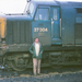 EE Type 3 Class 37/3 37304 (37334) at an Unknown Shed Circa 1974 - ID 2948