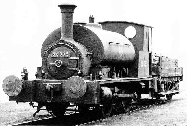 LMS Class Drummond Caledonian Pug 0F 0-4-0 Saddle Tank