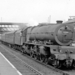 BR/LMS Stanier Class Princess 4-6-2 No. 46209 at Willesden Junction Station 1962 - ID 2863