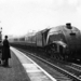 LNER/BR Class A4 No. Unknown at Grantham Station 1953 - ID 2375