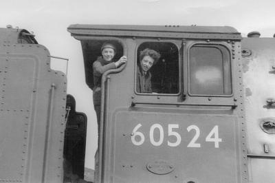 Rail uk photo gallery search 60524 at carlisle upperby shed circa 1964 publicscrutiny Choice Image