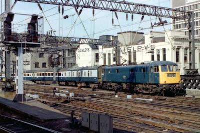 Rail UK Diesel/Electric Locomotive Information