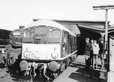BR Type 2 D5081 at Carlisle Station 1965