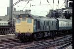 Type 2 BR Sulzer Class 25/2 25218 at Glasgow Central on 09 April 1982 - ID 2608