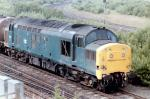 EE Type 3 Class 37/0 37157 (D6857) at Greenhill Junction on 23 July 1982 - ID 3383