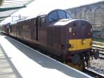 English Electric Class 37/5 37516 at Carlisle Station 2014 - ID 2795