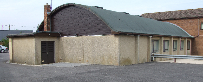 Village Hall from Rear Car Park